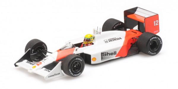 McLaren MP4/4 Ayrton Senna Hungarian GP 1988 Minichamps 1:43