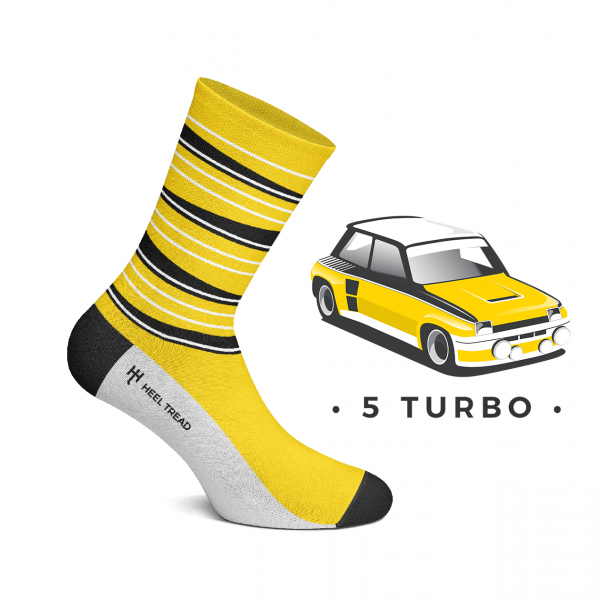 Heel Tread socks – 5 Turbo