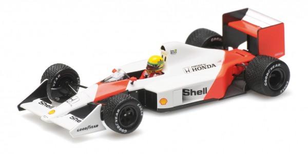 McLaren MP4/4B Ayrton Senna 1988 Testing Minichamps 1:43