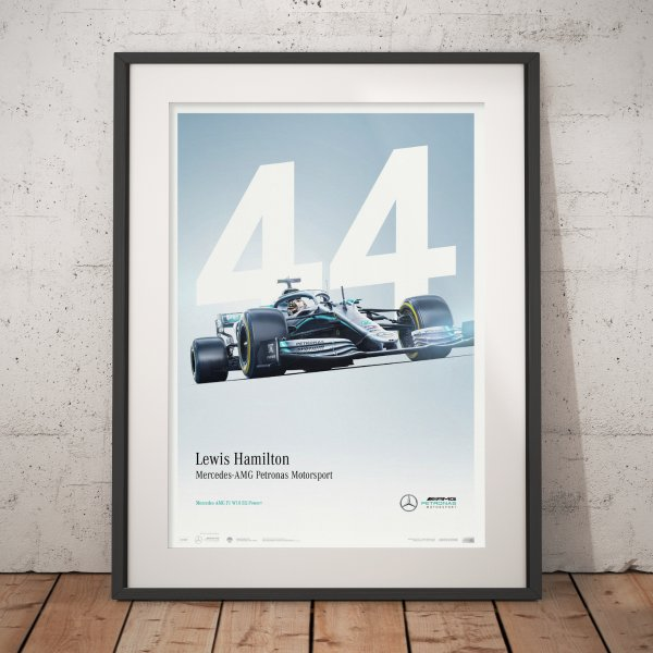 Mercedes-AMG Petronas Motorsport – 2019 – Lewis Hamilton – Poster | Limited Edition