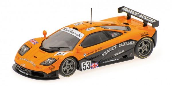 McLaren F1 GTR Giroix/Sala/Deletraz 24h Le Mans 1996 Minichamps 1:18