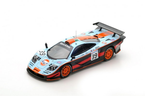 McLaren F1 GTR Bellm/Gilbert-Scott/Sekiya 24h Le Mans 1997 Spark 1:43