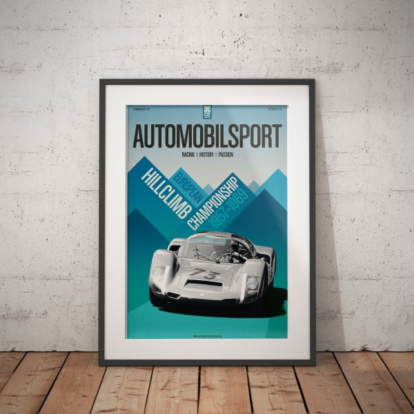 Poster AUTOMOBILSPORT #22 (2 sided) – Porsche 906