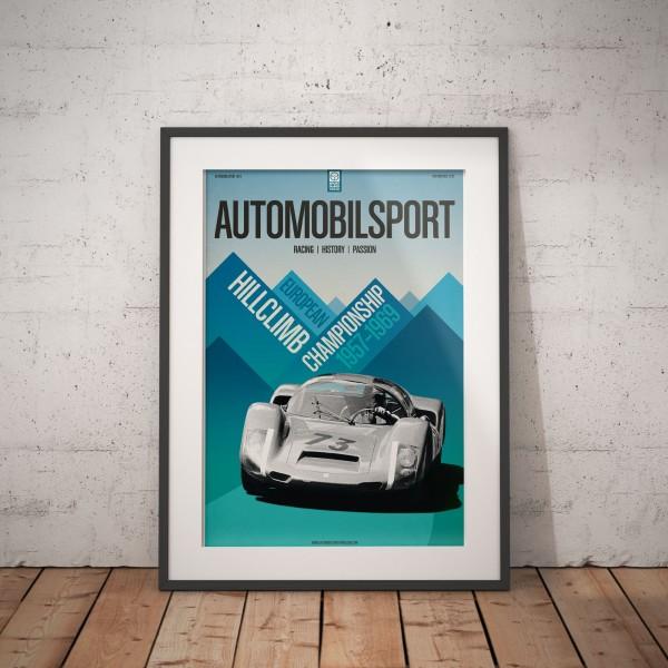 Poster AUTOMOBILSPORT #22 (2-seitig) – Porsche 906
