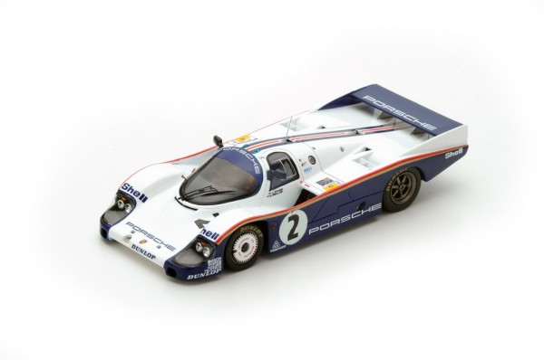 Porsche 956 Mass/Bellof 24h Le Mans 1983 Spark 1:43
