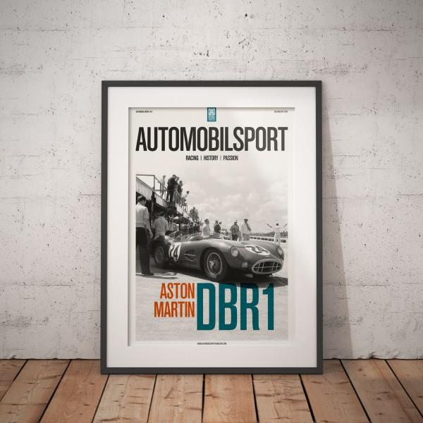 Poster AUTOMOBILSPORT #17 (2 sided) – Aston Martin DBR1
