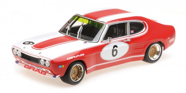 Ford Capri RS 2600 Weiss/Ludwig 6h Nürburgring 1973 Minichamps 1:18