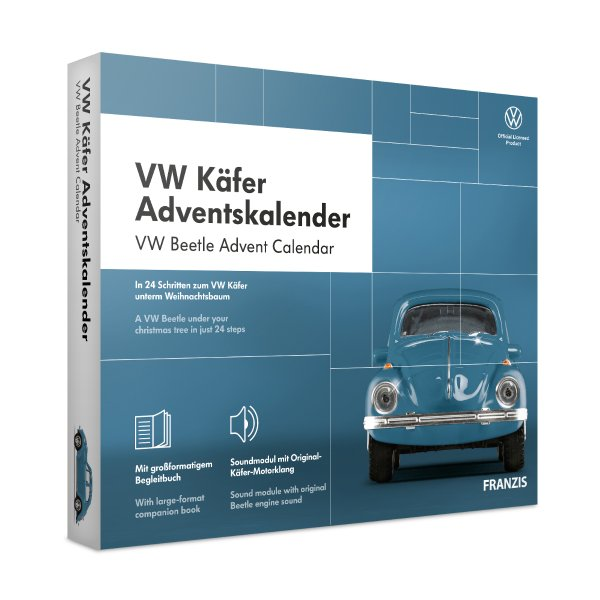 VW Käfer Adventskalender Franzis 1:43