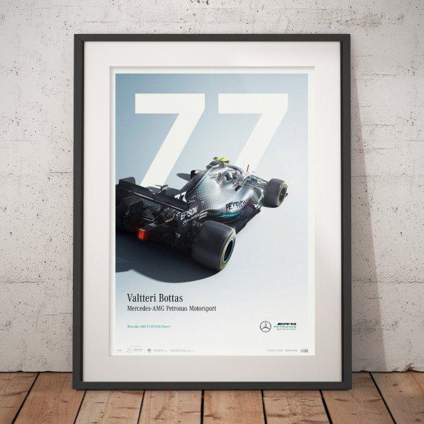 Mercedes-AMG Petronas Motorsport – 2019 – Valtteri Bottas – Poster   Limited Edition