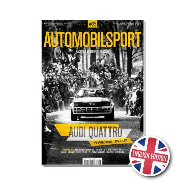 AUTOMOBILSPORT #25 (03/2020) – Englische Ausgabe