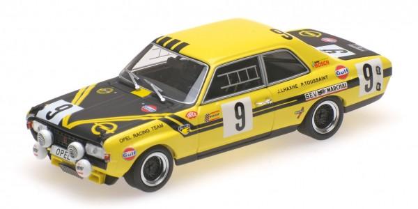 Opel Commodore A Steinmetz Haxhe/Toussaint 24h Spa 1970 Minichamps 1:43
