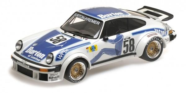Porsche 934 Wollek/Gurdijan/'Steve' 24h Le Mans 1977 Minichamps 1:18