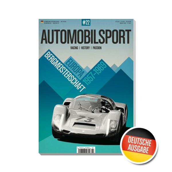 AUTOMOBILSPORT #22 (04/2019) – Deutsche Ausgabe