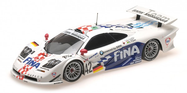 McLaren F1 GTR Lehto/Soper/Piquet 24h Le Mans 1997 Minichamps 1:18