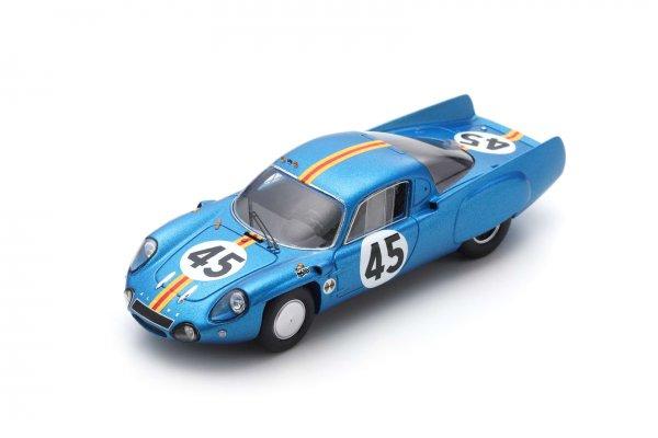 Alpine A210 Verrier/Bouharde 24h Le Mans 1966 Spark 1:43