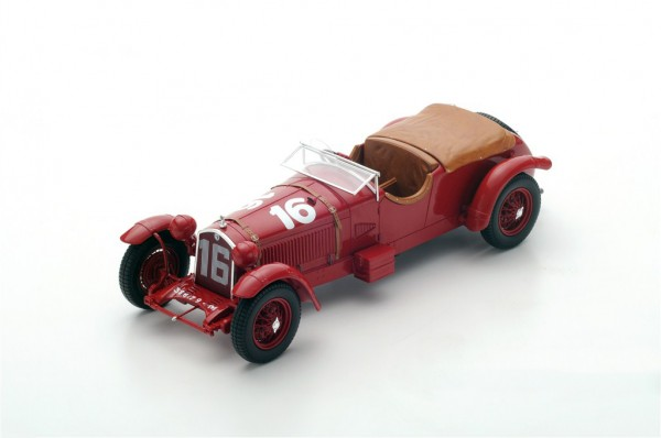 Alfa Romeo 8C Howe/Birkin 24h Le Mans 1931 Spark 1:18
