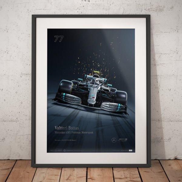 Mercedes-AMG Petronas Motorsport 2019 – Valtteri Bottas – Poster   Collector's Edition