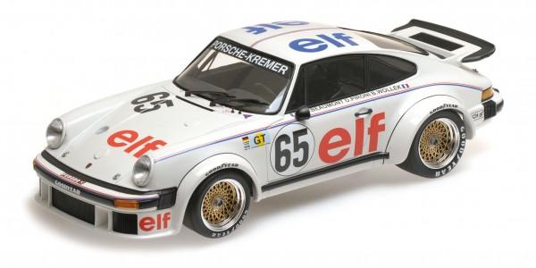 Porsche 934 Wollek/Beaumont/Pironi 24h Le Mans 1976 Minichamps 1:18