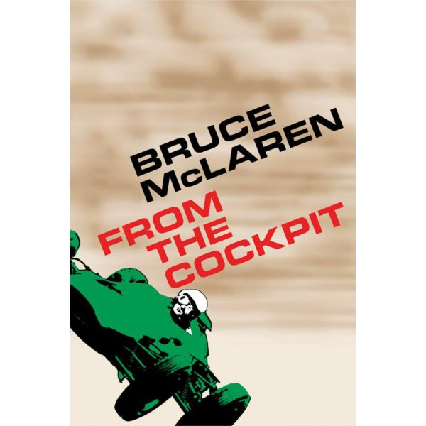 Bruce McLaren – From the Cockpit – Cover