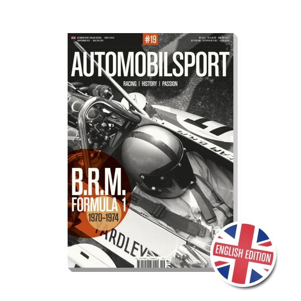 AUTOMOBILSPORT #19 (01/2019) – Englische Ausgabe