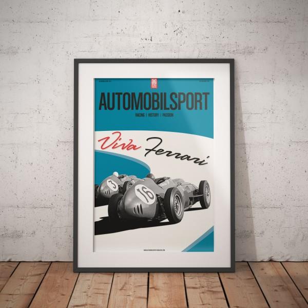 Poster AUTOMOBILSPORT #15 (2-seitig) – Ferrari 246 Dino F1
