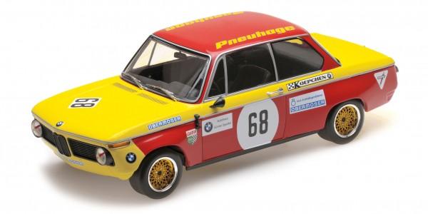 BMW 2002 Jörg Obermoser Hockenheim Preis der Nationen 1970 Minichamps 1:18