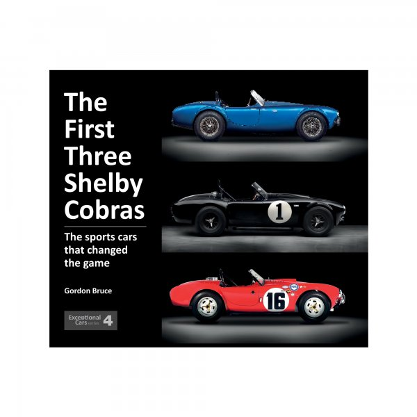 The First Three Shelby Cobras – The sports cars that changed the game