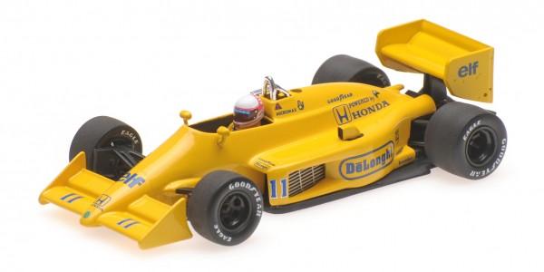 Lotus 99T Saturo Nakajima Monaco GP 1987 Minichamps 1:43