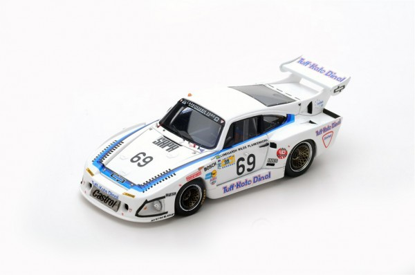 Porsche 935 L1 Lundgardh/Wilds/Plankenhorn 24h Le Mans 1981 Spark 1:43