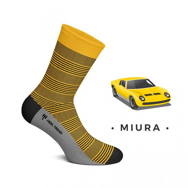 Heel Tread Socken – Miura