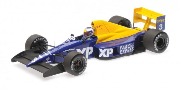 Tyrrell 018 Jonathan Palmer French GP 1989 Minichamps 1:18