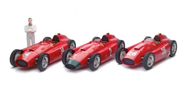 Set Peter Collins – Ferrari-Lancia D50 – Collins/Fangio – French, German & Italian GP 1956