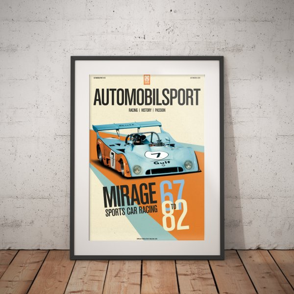 Poster AUTOMOBILSPORT #26 (2 sided) – Mirage M6 1973