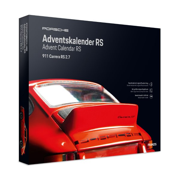 Porsche 911 Carrera RS Adventskalender Franzis 1:24