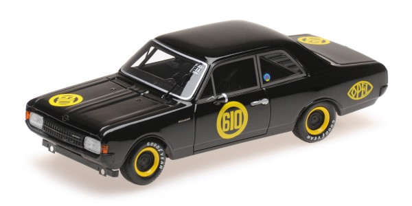Opel Rekord 1900 Erich Bitter Saisonfinale Hockenheim 1968 Minichamps 1:43