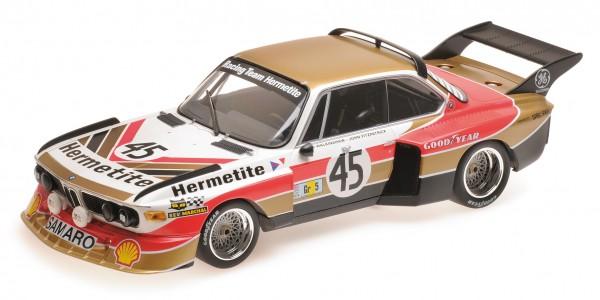 BMW 3.5 CSL Walkinshaw/Fitzpatrick 24h Le Mans 1976 Minichamps 1:18