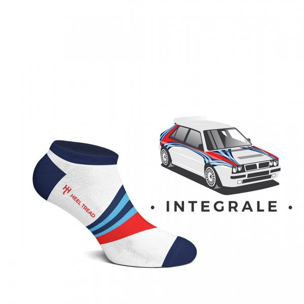 Heel Tread Sneakersocken – Integrale