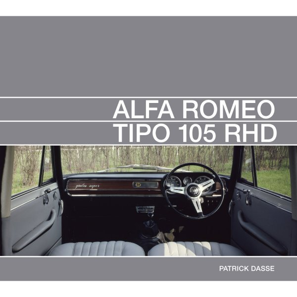 Alfa Romeo Tipo 105 RHD – Cover