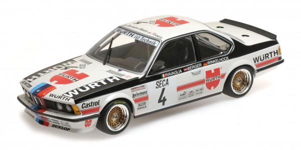 BMW 635 Csi Berger/Ravaglia/Winkelhock 24h Spa 1984 Minichamps 1:18