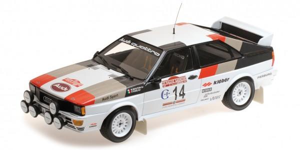 Audi Quattro Mouton/Pons Rallye San Remo 1981 Minichamps 1:18