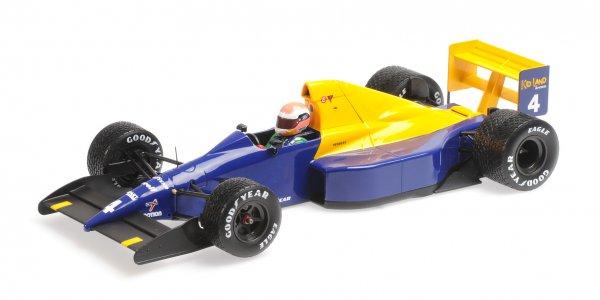 Tyrrell 018 Johnny Herbert Belgian GP 1989 Minichamps 1:18