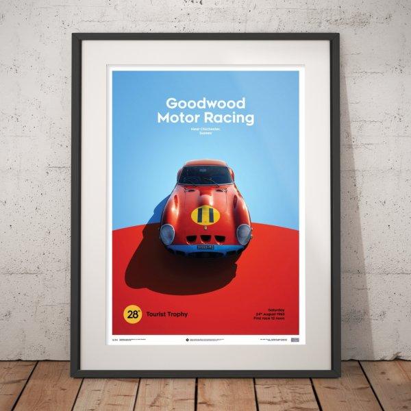 Ferrari 250 GTO – Red – Goodwood TT – 1963 – Poster | Limited Edition