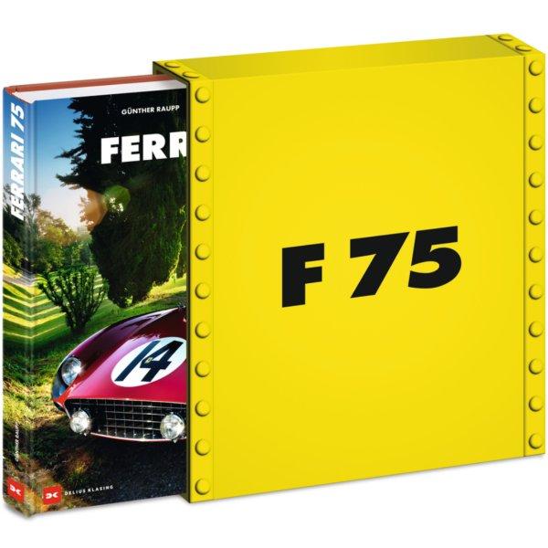 Ferrari 75 – Limitierte Sonderausgabe – Cover und Schuber