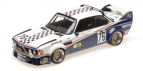 BMW 3.0 CSL 'Depnic'/Coulon 24h Le Mans 1977 Minichamps 1:18