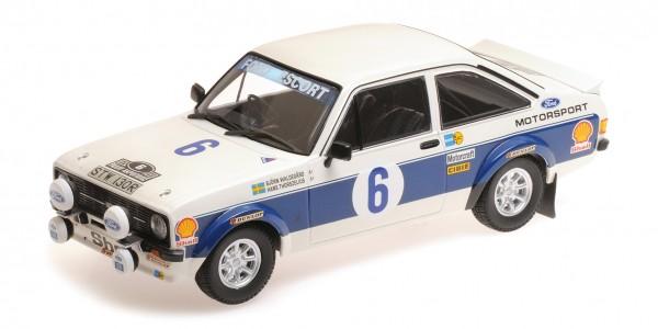 Ford Escort RS 1800 Waldegaard/Thorszelius Acropolis Rally 1977 Minichamps 1:18