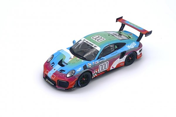 Porsche 911 GT2 RS Clubsport – 000 Art Car – David Donner Pikes Peak 2020 Spark 1:43