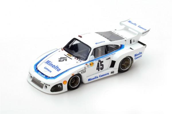 Porsche 935 K3 Plankenhorn/Gurdjian/Winter 24h Le Mans 1979 Spark 1:43