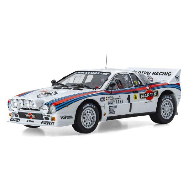 Lancia Rally 037 Röhrl/Geistdörfer Rallye Monte Carlo 1983 Kyosho 1:18