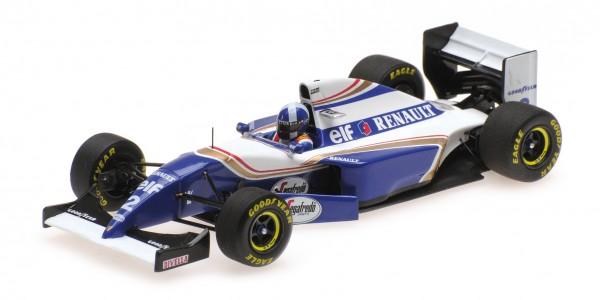 Williams FW16 David Coulthard Spanish GP 1994 F1 debut Minichamps 1:43