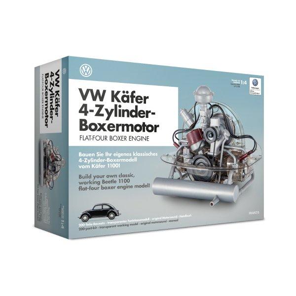 VW Käfer 4-Zylinder-Boxermotor Baujahr 1945 Bausatz Franzis 1:4